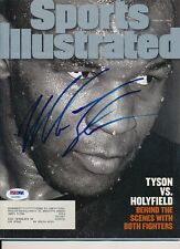 Mike Tyson Signed Sports Illustrated Magazine Autograph Auto PSA/DNA Z10650