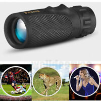 12x25 Pocket Compact Monocular Telescope Outdoor Survival Hunting Scope Props HS