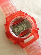 LCD Digital Sport Fluro Working Quartz Watch