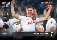 2018-19 Topps NOW Premier League 38 Juan Foyth First Career Goal