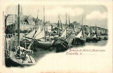 CPA  Trouville - Bateaux de Peche a Marée basse   (383570)