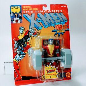 """X-Men Marvel Comics Colossus w/ Power Lift - Vintage Toybiz 4.75"""" Action Figure"""