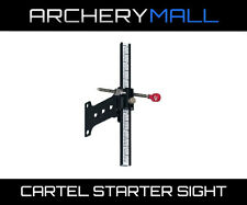 Cartel Starter Beginner Recurve Bow Sight RH/LH Aluminum Construction