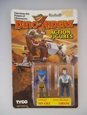 Dino Riders Figuren Six-Gill & Orion in OVP Tyco 1987 (1690)