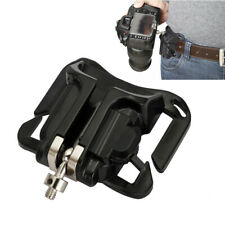 CAMERA QUICK RELEASE MOUNT CLIP WAIST BELT BUCKLE HOLSTER FOR CANON NIKON DLSR
