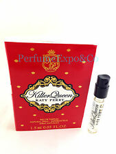 Killer Queen KATY PERRY 1.5ml Sample Vial EDP SPRAY Perfume Women NEW w/Card (C1