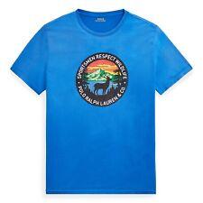 Polo Ralph Lauren Men's T-Shirt Sportsmen Respect Wildlife Tee - Blue