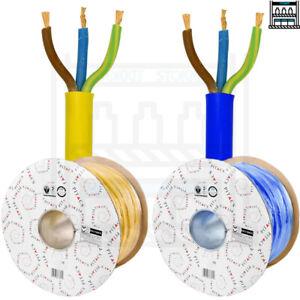 Arctic Blue Yellow 3183 AG Flex Cable 3core 1.5, 2.5, 4mm Caravan Camping Artic