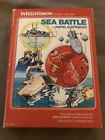 Sea Battle (Intellivision, 1980) Complete CIB - Cleaned, Tested - Free Shipping