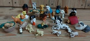 Vintage Puppy In My Pocket Job Lot 1990s Dogs & Puppies MEG