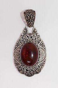 Sarda Sterling Silver 925 Gemstone Pendant