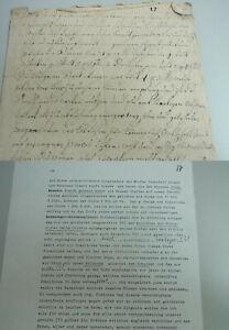 Schuldbrief Garenfeld (Hagen) 1749: Brandt, Gen. Wever Gives Money, With Abschr