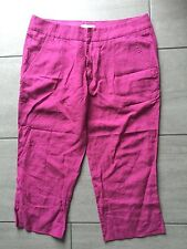 Diesel Ladies Pink Cropped Trousers Size 31. Good Condition.