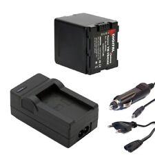 Akku + Ladegerät Set für Panasonic HDC-HS900, HDC-TM900, HDC-SD800, HDC-SD909