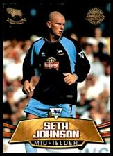 Topps Premier Gold 2002 - Derby County Seth Johnson - DC3