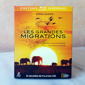 BLU-RAY LES GRANDES MIGRATIONS édition intégrale 2 blu-ray NATIONAL GEOGRAPHIC