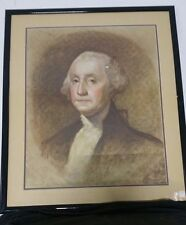 """GEORGE WASHINGTON 1906 STONE LITHO 22""""X26"""" CAT$400+ AT AUCTION WHEN SEEN--------"""