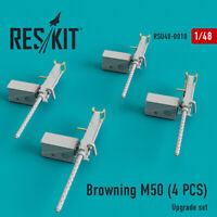 Reskit RSU48-0010 - 1/48 – Browning M50 (4 pcs) Upgrade