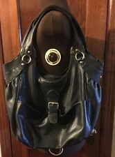 Mossimo Supply Company Black Shoulder Bag Large Fair Condition
