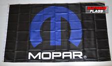 Mopar Flag Banner 3x5 ft Fiat Chrysler Automobiles MOtor PARts Wall Garage