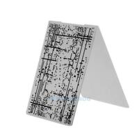 1pc Plastic Embossing Folder Template For Scrapbooking DIY Photo Album Card TN2F