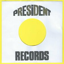 PRESIDENT REPRODUCTION RECORD COMPANY SLEEVES - (pack of 10)