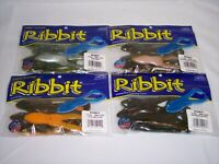 "Stanley Frog Ribbit Topwater Bass Fishing Toad 3.5"" 5pk - (Pick Color)"