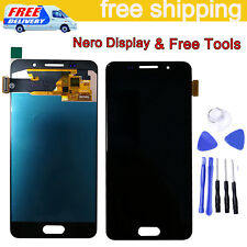 Per Samsung Galaxy A3 2016 A310 SM-A310F Display LCD + Touch Screen Schermo Nero