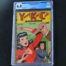 YOUNG KING COLE DETECTIVE TALES v2 #5 (1947) 💥 CGC 6.0 💥 Crime Novelty Press