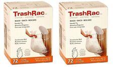 Sunbeam Trashrac Trash Bags 5 Gal. 0.7 Mil 72 Bags - Pack of 2 (Total 144 Bags)