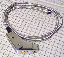 4 PIN PISTOL GRIP NEW CB POWER CHROME M MICROPHONE  COBRA UNIDEN RADIO W BATTRY