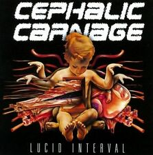 Cephalic Carnage - Lucid Interval (CD, 2011) Technical Grindcore/Death Metal NEW