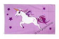 Banner Flags Unicorn pink - 90 x 150 cm Hoisting Flag