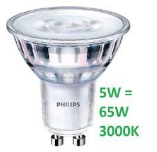 PHILIPS Led  GU10 5W  65W GU10 3000K luce calda 460 lumen ALTA LUMINOSITA'