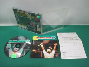 PlayStation -- World Pro Tennis 98 -- PS1. JAPAN. GAME. work fully. 21226