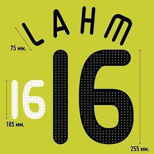 Lahm 16. Germany Home football shirt 2008 - 2009 FLEX NAMESET NAME SET PRINT