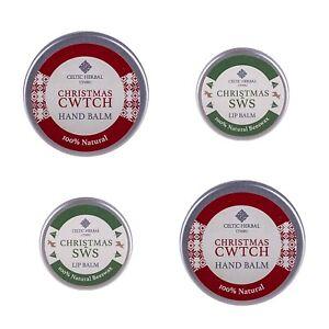 Celtic Herbal Christmas Skin Balm Multipack | 100% Natural & Moisturising