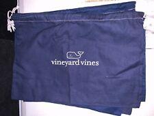 VINEYARD VINES NAVY/WHITE DRAWSTRING BAG - LOT OF 6