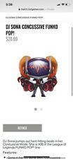 DJ Sona (Cuncussive) Funko Pop League Of Legends