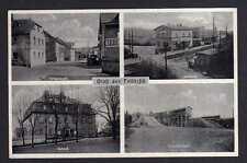 101336 AK Feilitzsch bei Hof Bahnhof Schloß Schotterwerk Ortsansicht 1938
