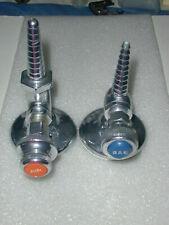 2 Air Amp Gas Cocks Shutoff Valves For Blowpipe Torch Burner