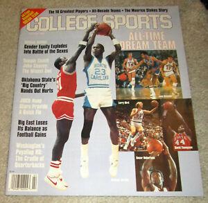Michael Jordan CAROLINA DREAM TEAM Magazine NBA Chicago Bulls Basketball1994Rare