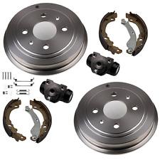 Bremsen Set Bremstrommel Backen Radzylinder Zubehör HINTEN für Ford Ka RU8