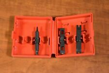 Harris D Blade Case with Assorted Impact Punch Blades Tips 66/110