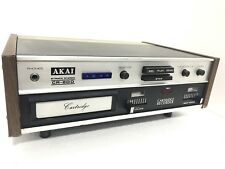 AKAI CR-80D 8-TRACK Rare Stereo Eight Track Deck Record Play Vintage Like New