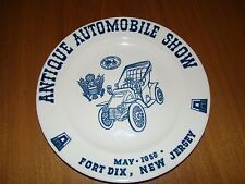 1956 FORT DIX NEW JERSEY ANTIQUE AUTO SHOW PLATE