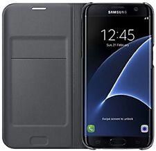 Matte Mobile Phone Wallet Case for Samsung