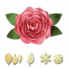 SPELLBINDERS CREATE A FLOWER CAMELLIA CUTTING DIE D-LITES S2-167 NEW 2015