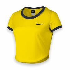 New NIKE Women's Premier Short-sleeve Crop Top Tennis Tank Serena Shirt 799102 L