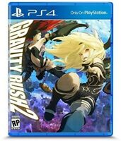 PLAYSTATION 4 PS4 VIDEO GAME GRAVITY RUSH 2 BRAND NEW AND SEALED